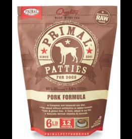 Primal Pet Foods Primal Raw Frozen Canine Pork Formula 6lb