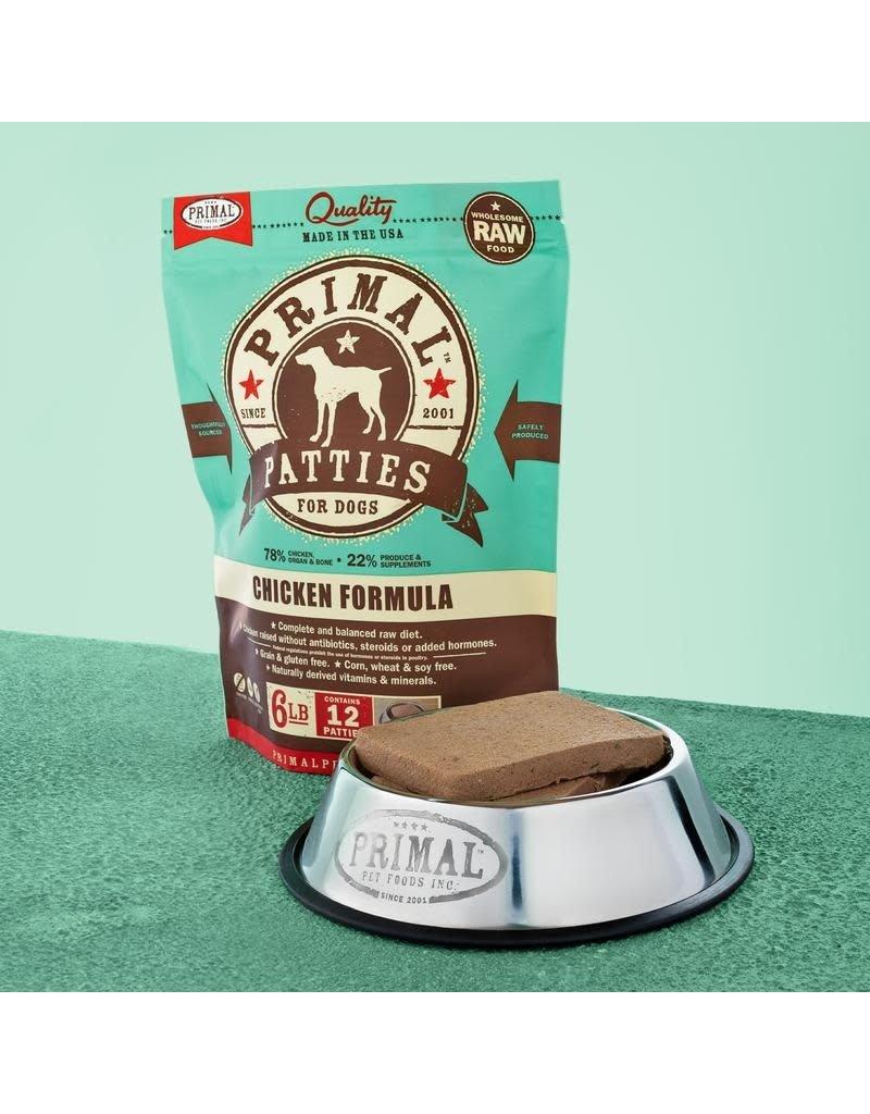 Primal Pet Foods Raw Frozen Canine Chicken Formula 6lb