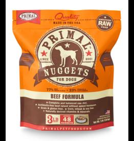Primal Pet Foods Primal Raw Frozen Canine Beef Formula 3lb