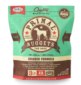 Primal Pet Foods Primal Raw Frozen Canine Chicken Formula 3lb