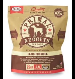 Primal Pet Foods Primal Raw Frozen Canine Lamb Formula 3lb