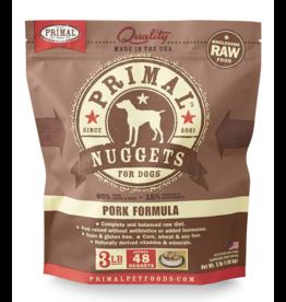 Primal Pet Foods Primal Raw Frozen Canine Pork Formula 3lb