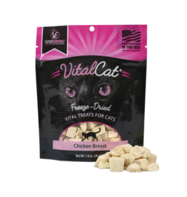 Vital Essentials Chicken Breast Freeze-Dried Treats for Cats