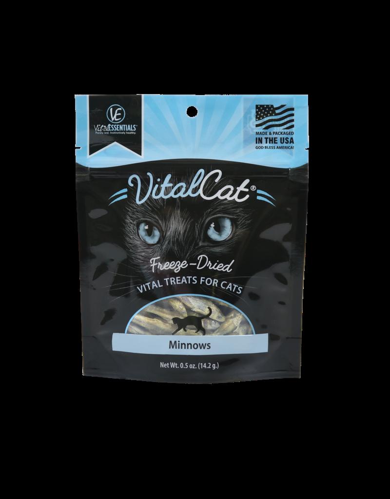 Vital Essentials Minnows Freeze-Dried Treats for Cats