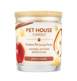 Pet House by One Fur All Apple Cider Pet Odor Candle