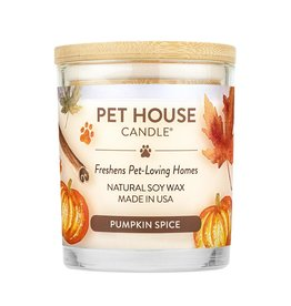 Pet House by One Fur All Pumpkin Spice Pet Odor Candle