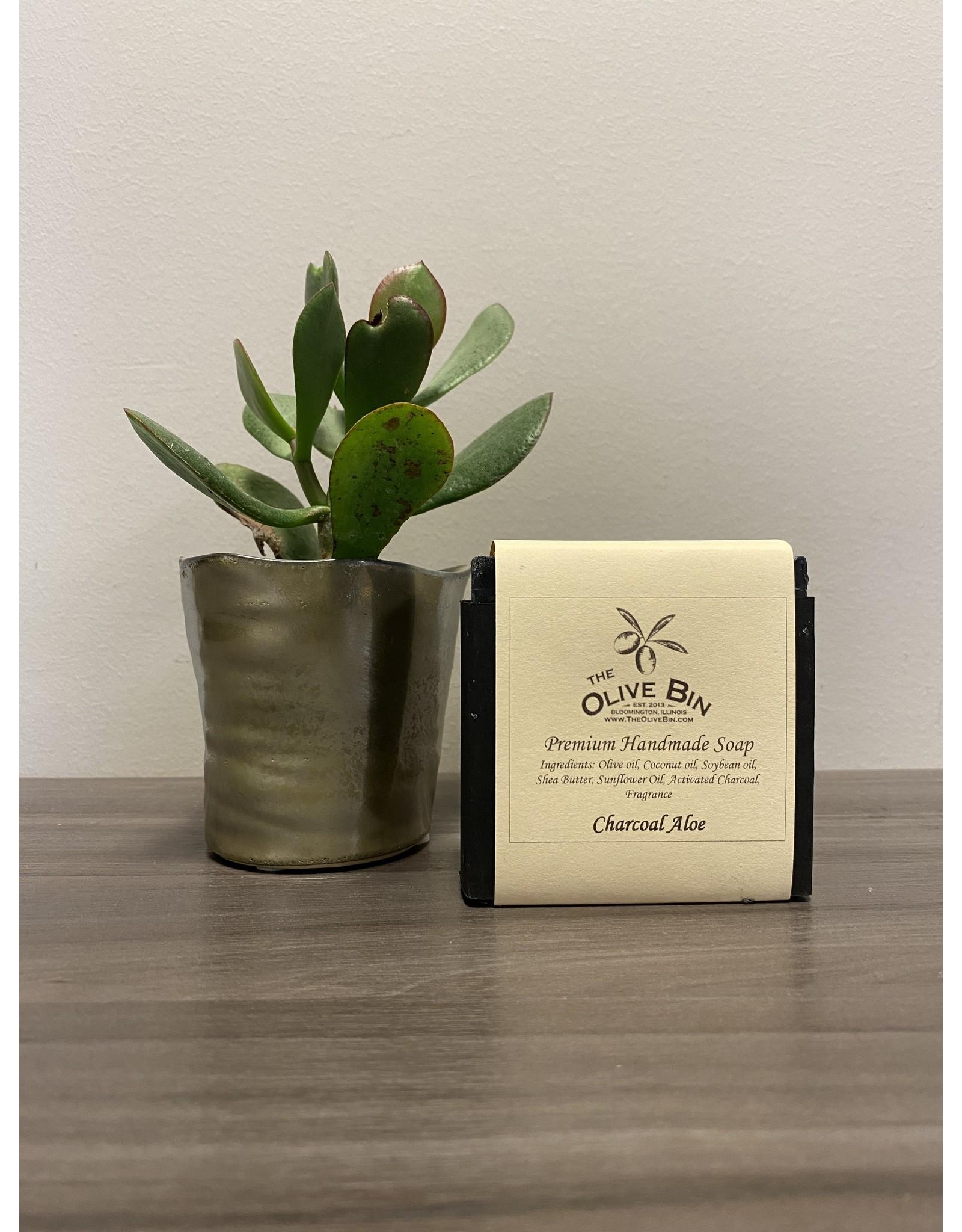 Charcoal Aloe Soap