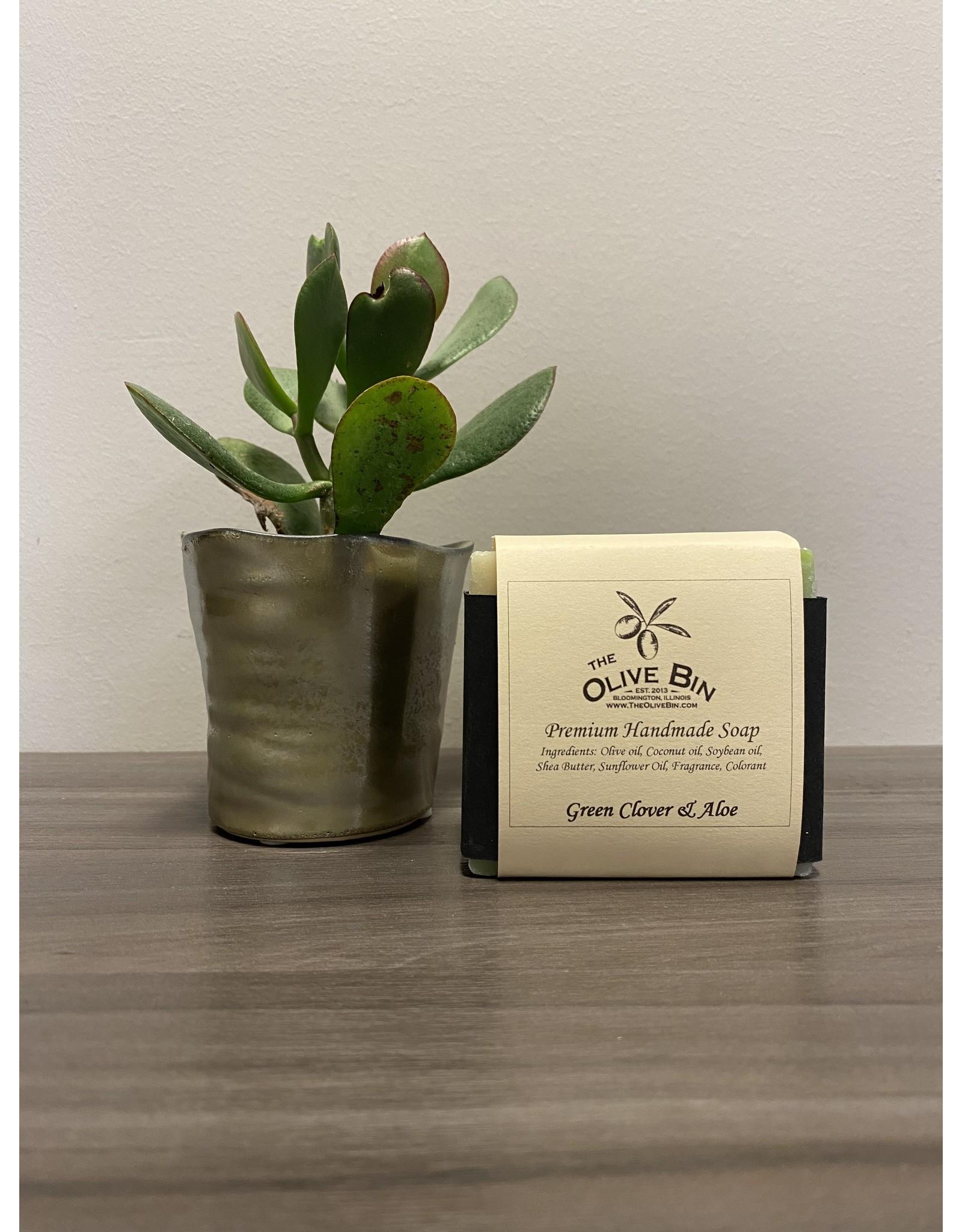 Soap Guy Green Clover & Aloe Soap