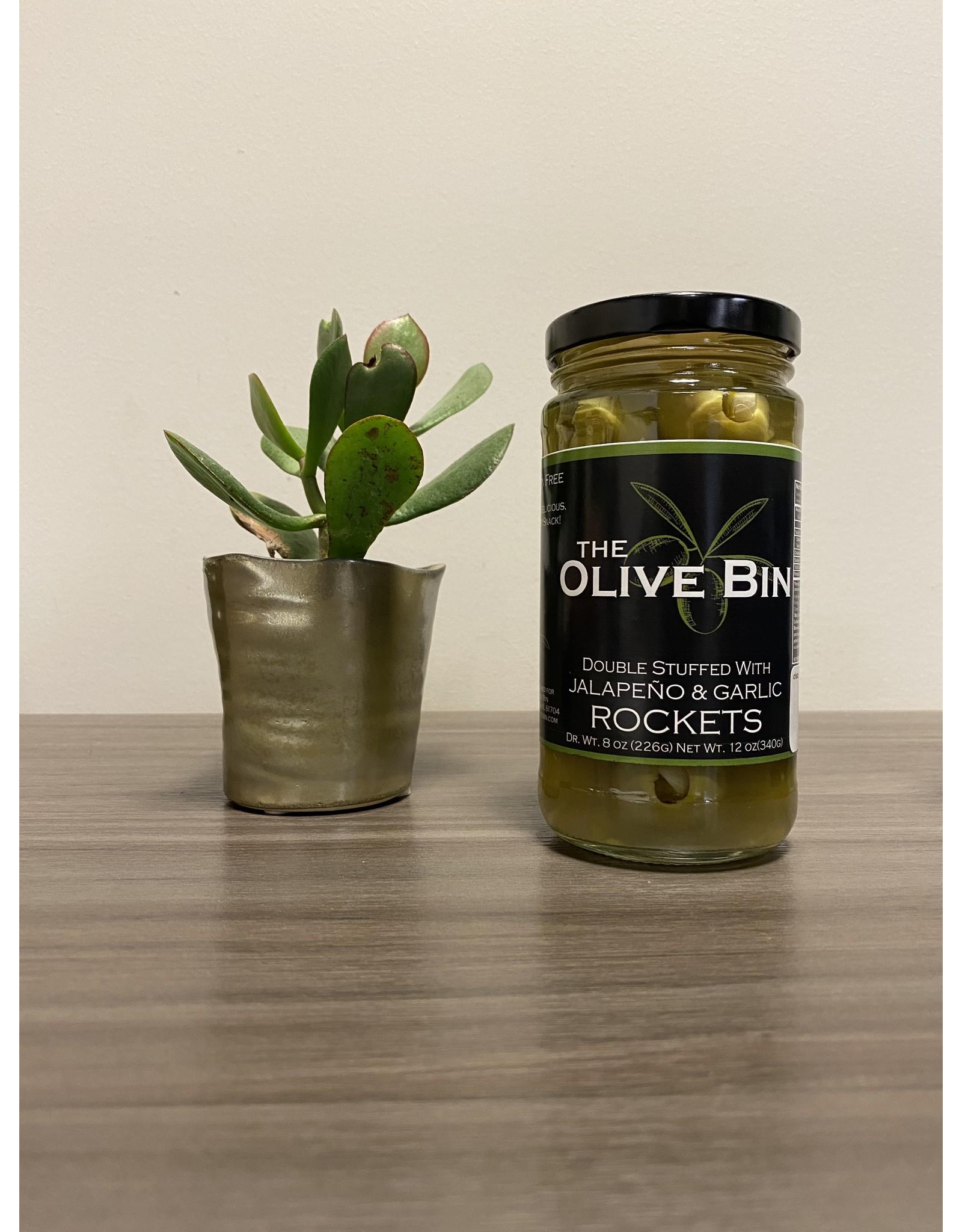 Rockets Double Stuffed Olives