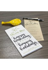 Complimentary Notepad