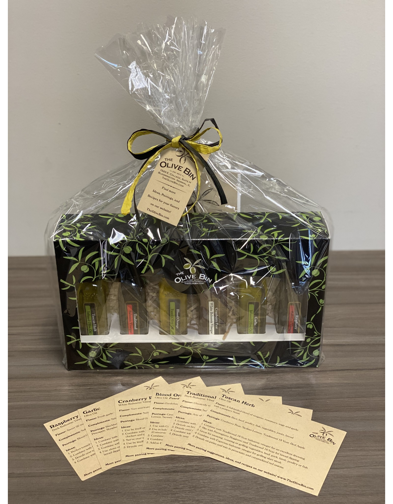 The Olive Bin's 6 Pack Sampler - WRAPPED