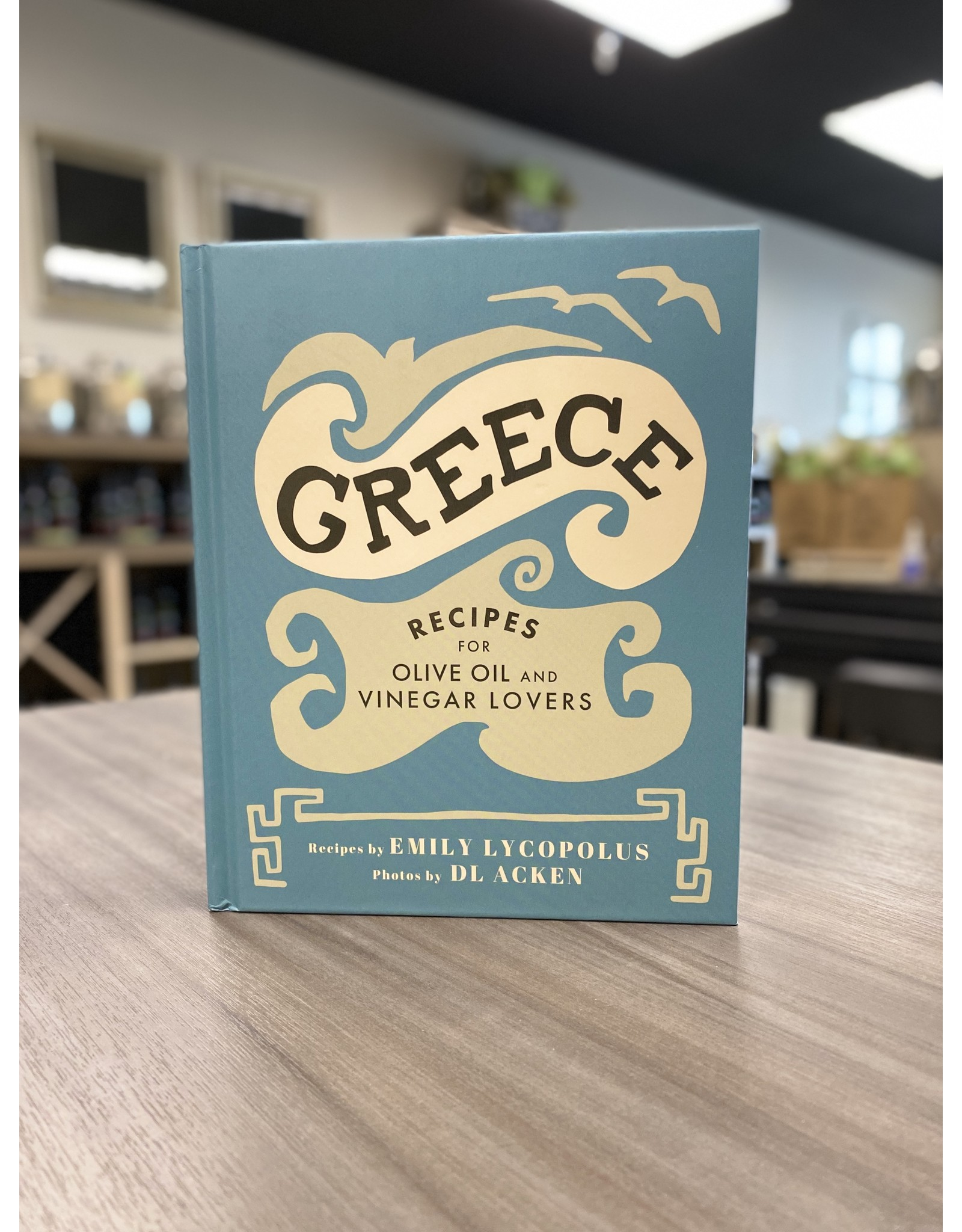 Country Cookbook Gift Set - Greece