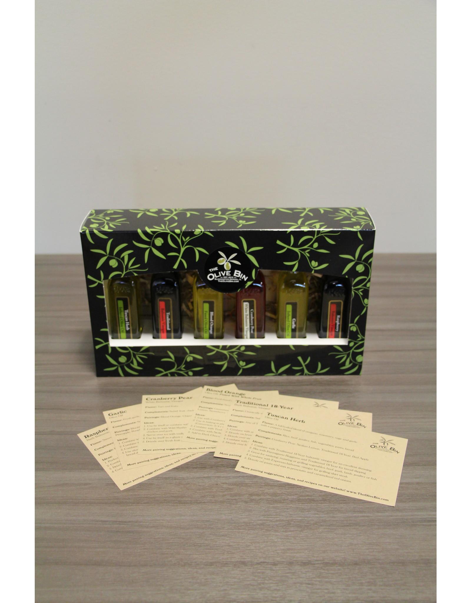 The Olive Bin's 6 Pack Sampler