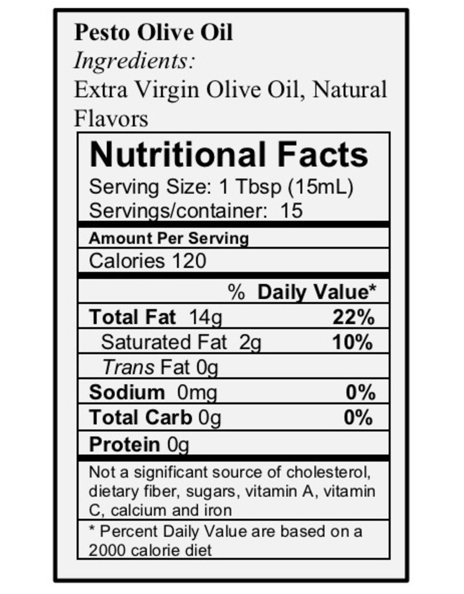 Pesto Olive Oil