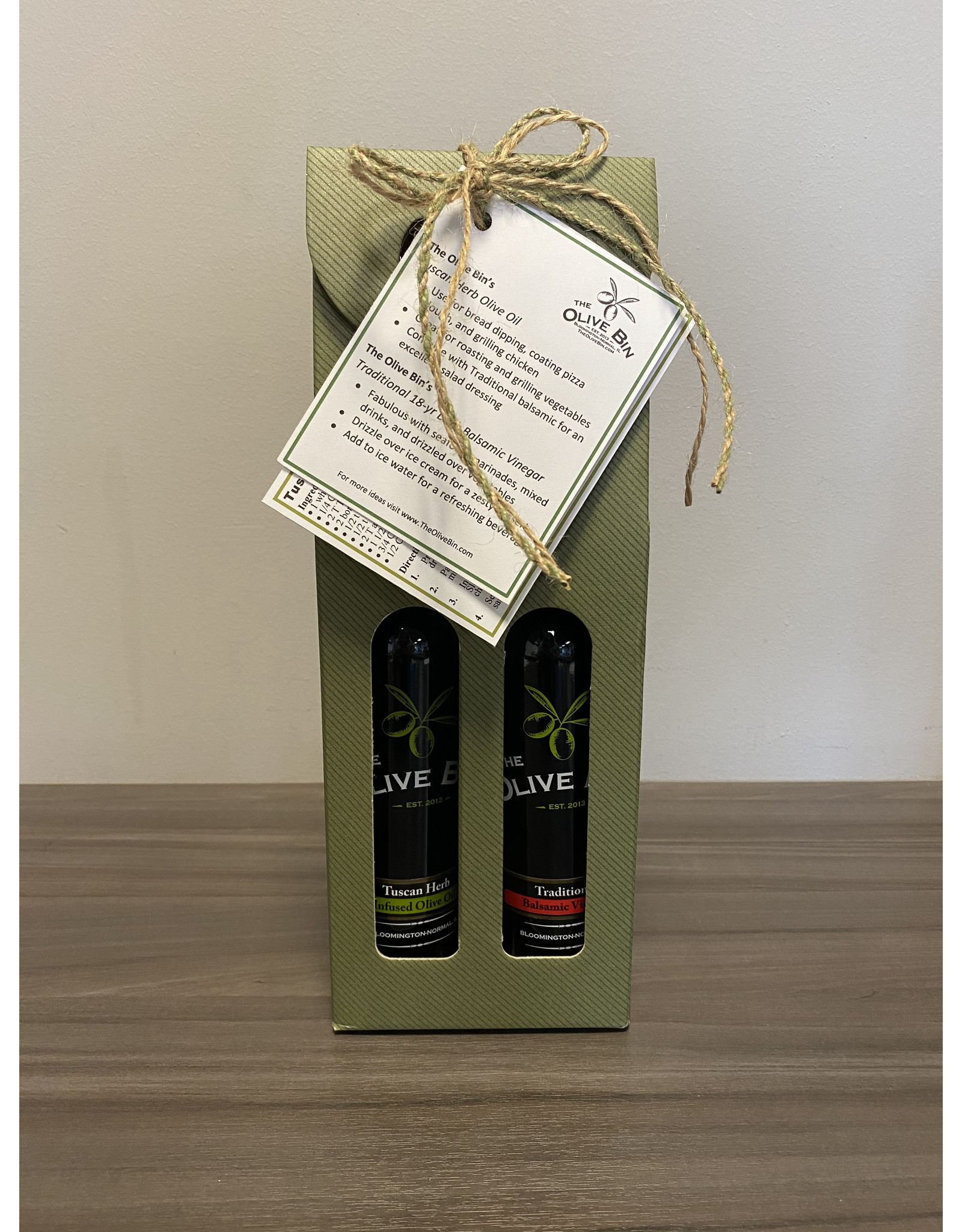 Tuscan Herb & Traditional with Recipe & Idea Card