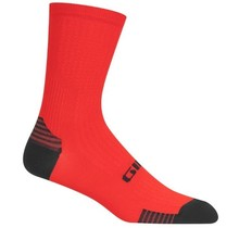 GIRO HRC+ GRIP SOCKS - BRIGHT RED