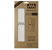 AMS HONEYCOMB FRAME SKINS BASIC PROTECTION CLEAR / SILVER