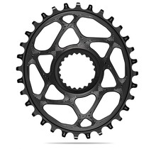 ABSOLUTE BLACK OVAL CHAINRING SHIMANO 12SP