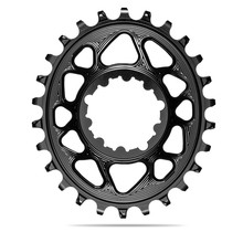 ABSOLUTE BLACK OVAL CHAINRING SRAM DIRECT MOUNT BOOST