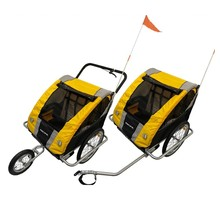 PACIFIC DOUBLE TRAILER W/ STROLLER