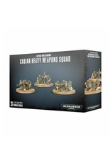 Warhammer 40,000 Astra Militarum Cadian Heavy Weapons Squad