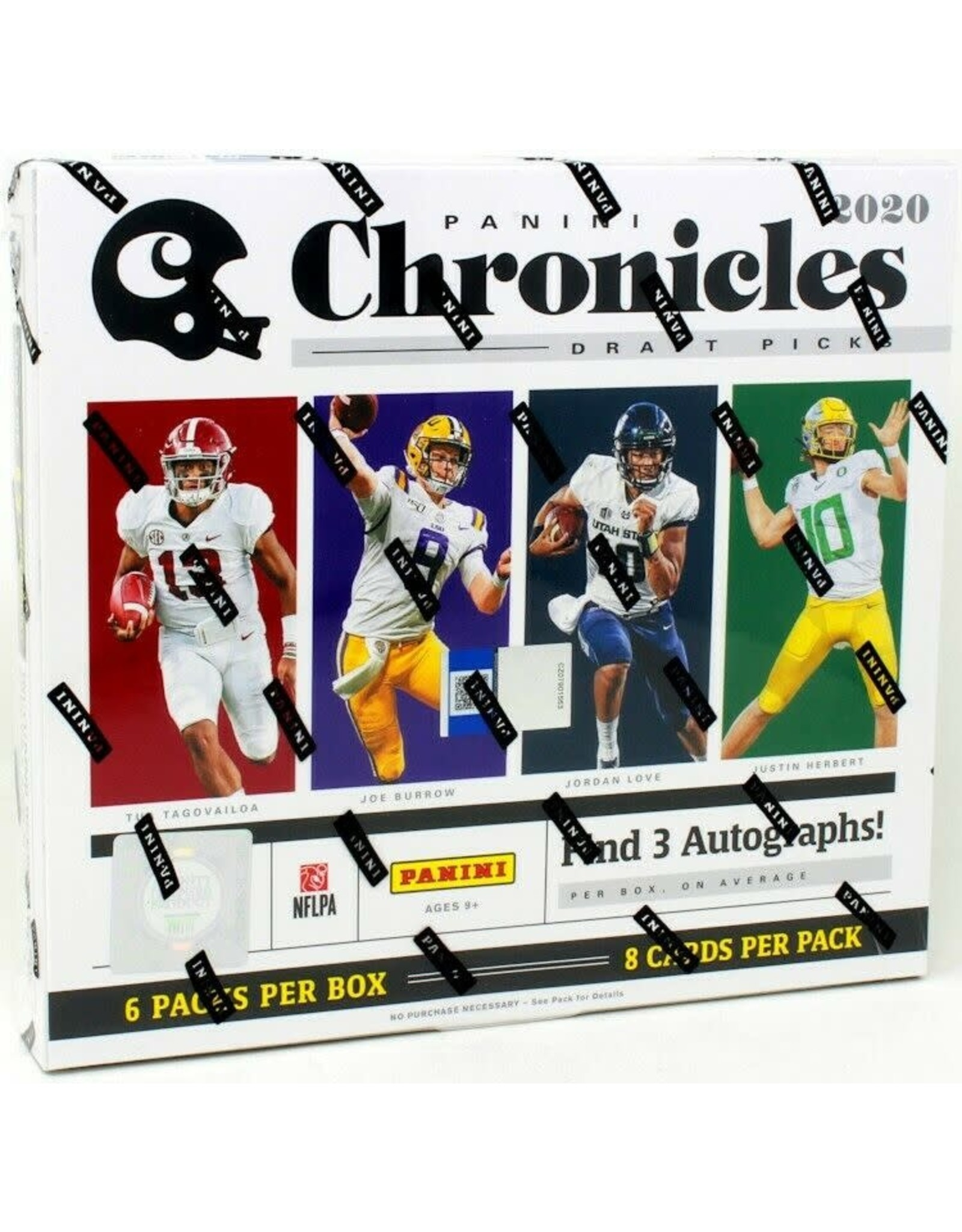 Panini 2020 Panini Chronicles Draft Picks Football Hobby Box
