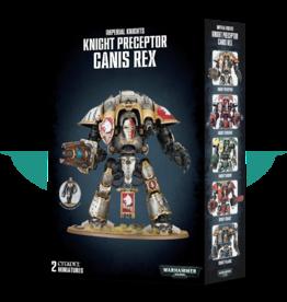 Warhammer 40,000 Knight Preceptor Canis Rex