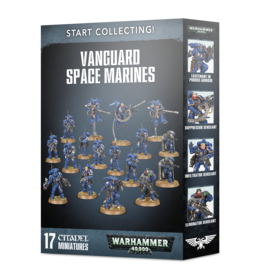 Warhammer 40,000 Start Collecting! Vanguard Space Marines