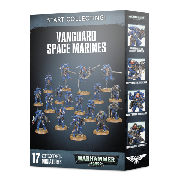 Warhammer 40,000 Start Collecting! Vanguard Space Marines