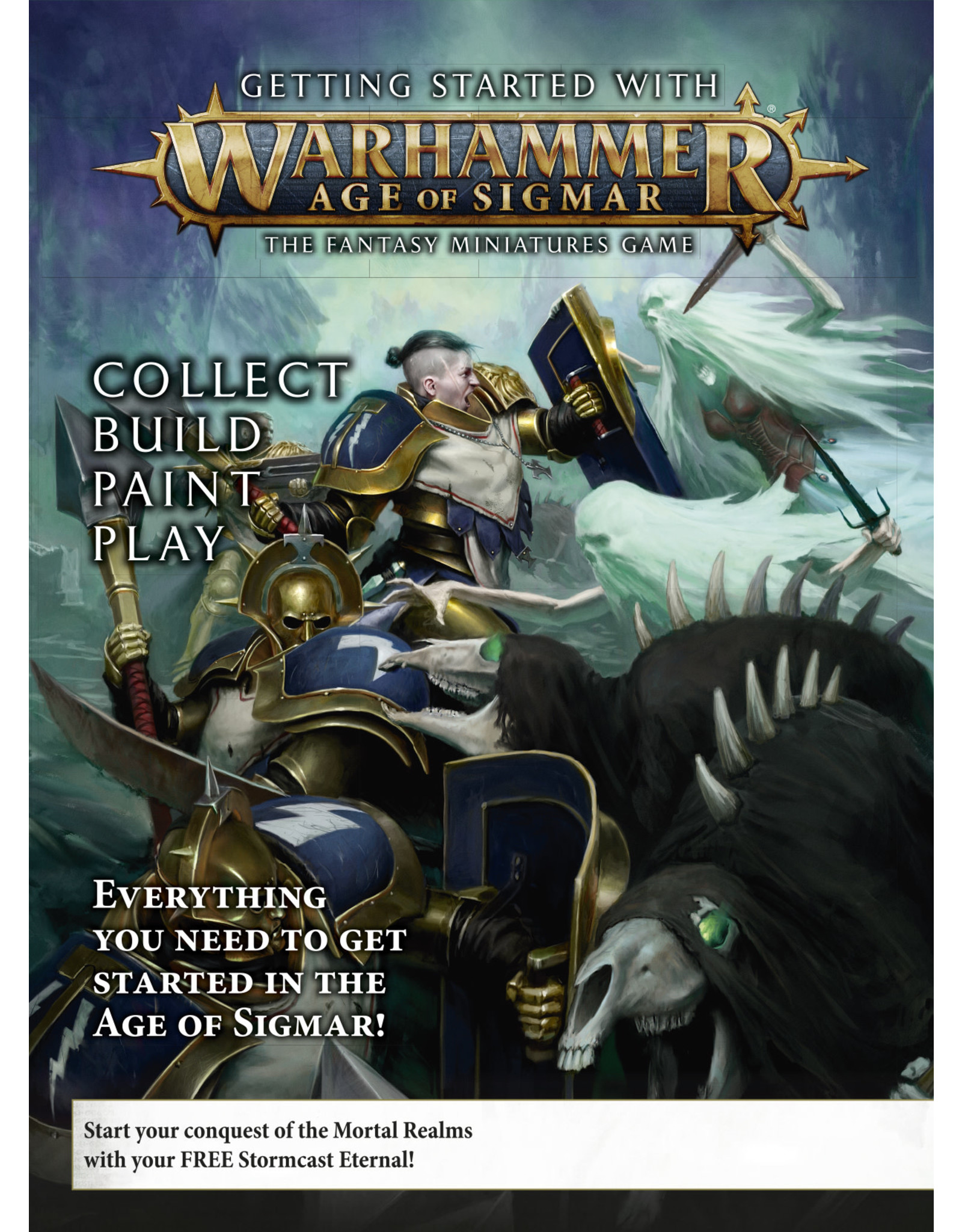 Warhammer Age of Sigmar Getting Started With Age of Sigmar