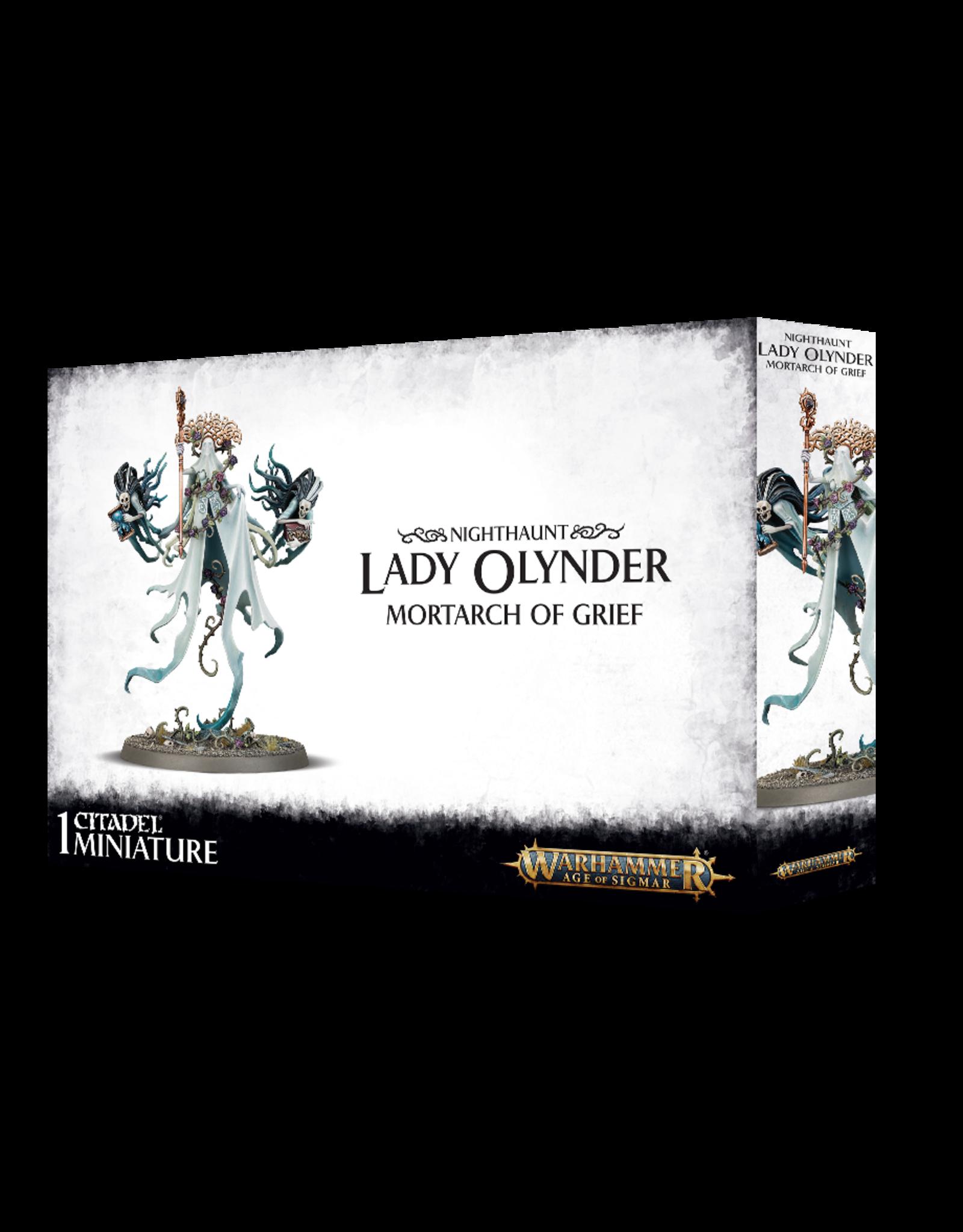 Warhammer Age of Sigmar Lady Olynder, Mortarch of Grief