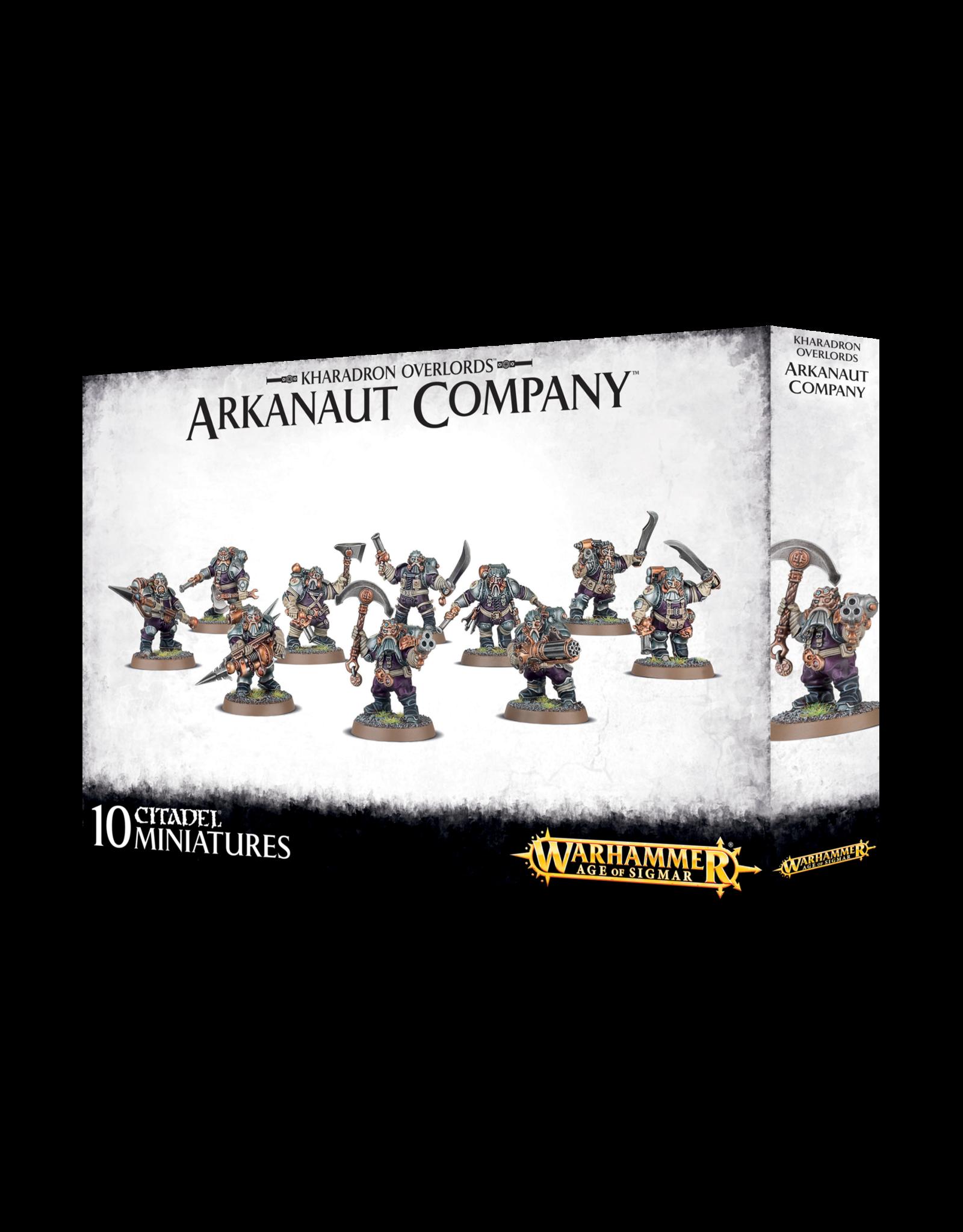 Warhammer Age of Sigmar Arkanaut Company