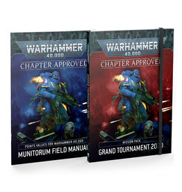 Warhammer 40,000 Chapter Approved: Grand Tournament 2020 Mission Pack and Munitorum Field Manual