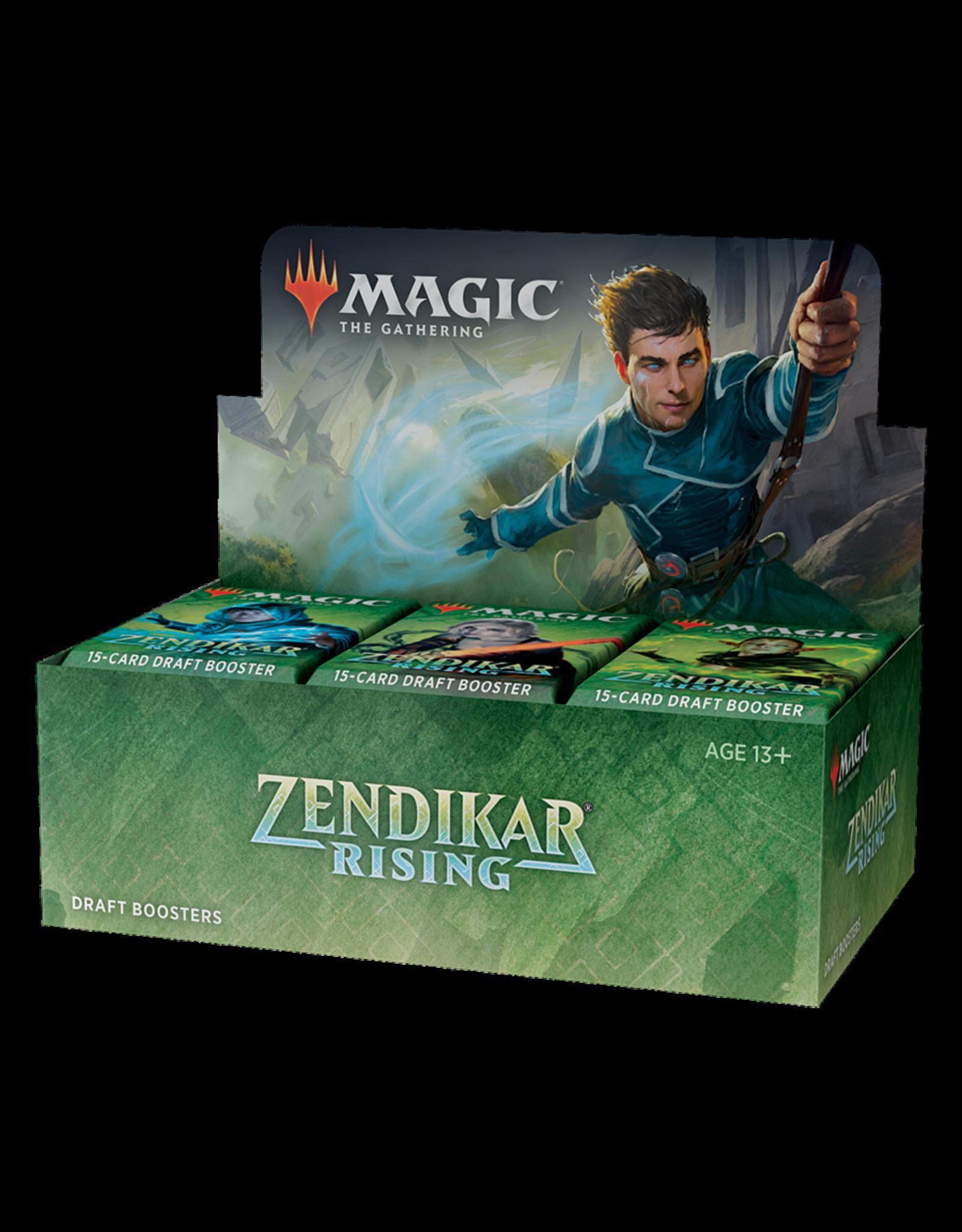 Magic: The Gathering Zendikar Rising Draft Booster Box