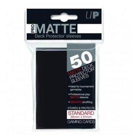 Ultra Pro Pro-Matte Deck Protectors Standard Black 50