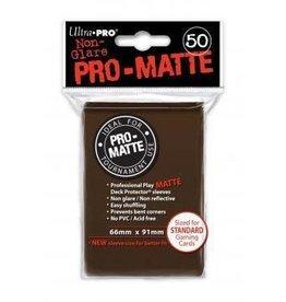 Ultra Pro Pro-Matte Deck Protectors Standard Brown 50