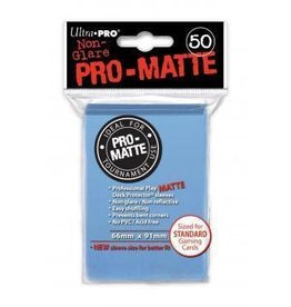 Ultra Pro Pro-Matte Deck Protectors Standard Light Blue 50