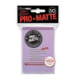 Ultra Pro Pro-Matte Deck Protectors Standard Lilac 50