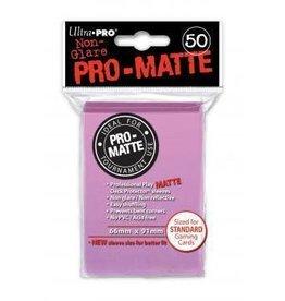Ultra Pro Pro-Matte Deck Protectors Standard Pink 50