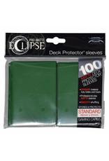 Ultra Pro Eclipse Sleeves Standard Dark Green 100