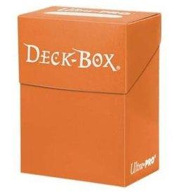 Ultra Pro Deck Box Pumpkin Orange