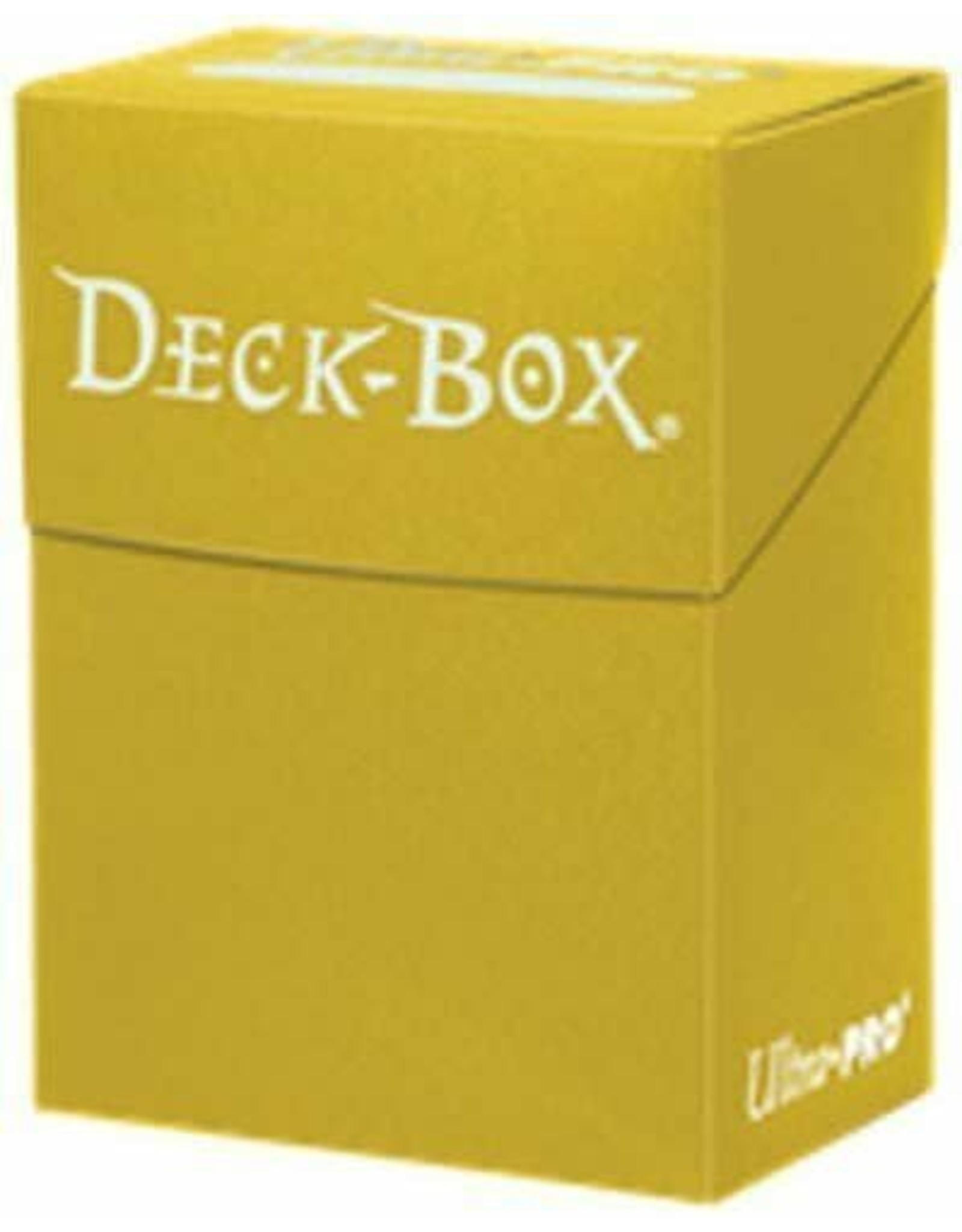 Ultra Pro Deck Box Solid Yellow