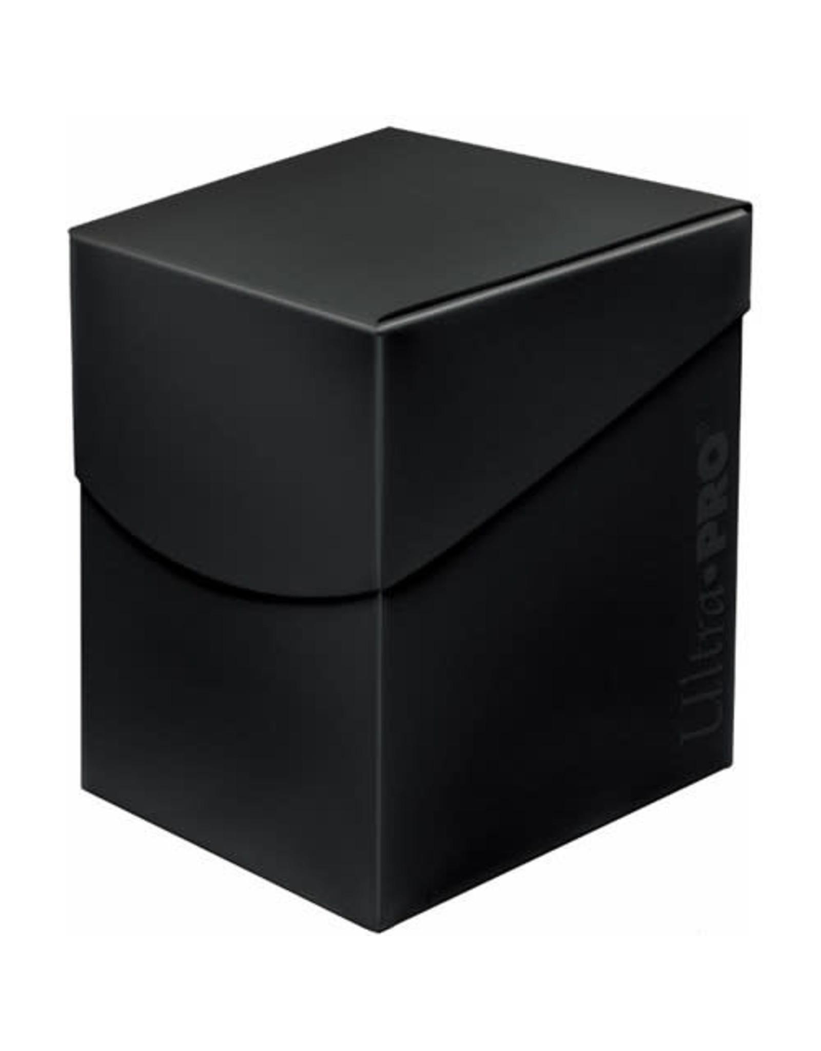 Ultra Pro Pro 100+ Eclipse Deck Box Jet Black