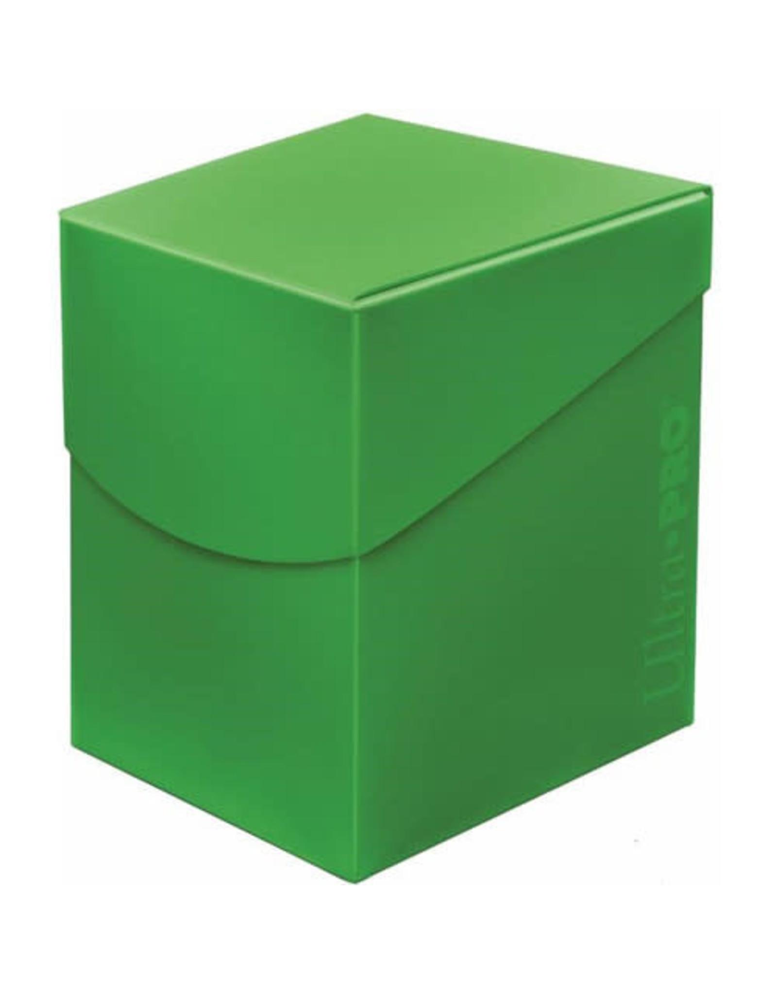 Ultra Pro Pro 100+ Eclipse Deck Box Lime Green