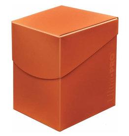 Ultra Pro Pro 100+ Eclipse Deck Box Pumpkin Orange