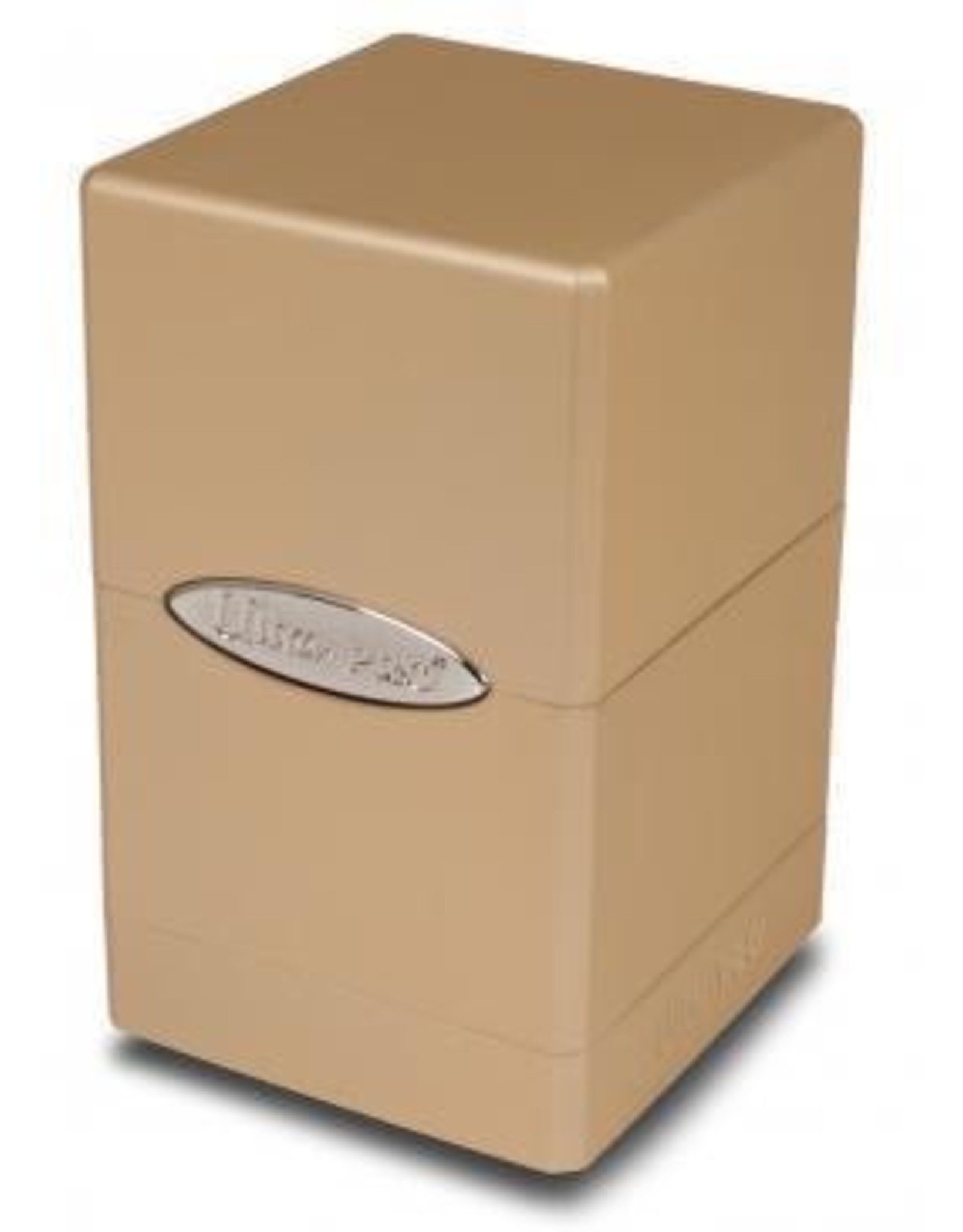 Ultra Pro Satin Tower Deck Box Metallic Caramel