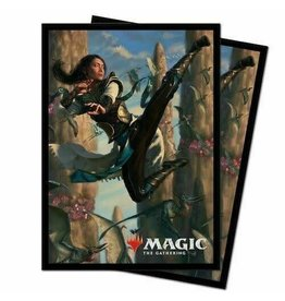 Ultra Pro Ikoria 'Narset of the Ancient Way' Standard Deck Protector Sleeves 100