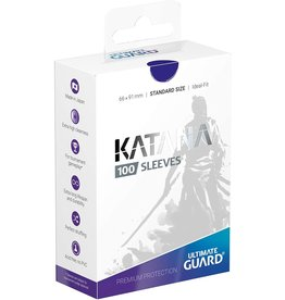 Ultimate Guard Katana Sleeves 100 Blue