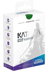 Ultimate Guard Katana Sleeves 100 Green