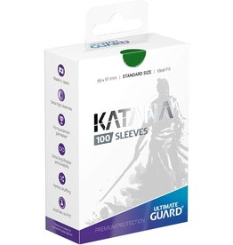 Ultimate Guard Katana Sleeves 100 Green